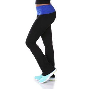 FOLD-OVER YOGA PANTS PC0004-09